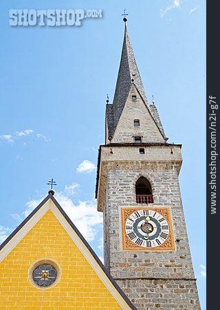 Steeple, Bruneck, Ursuline Church