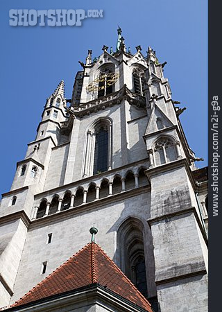 Steeple, Munich, St. Paul