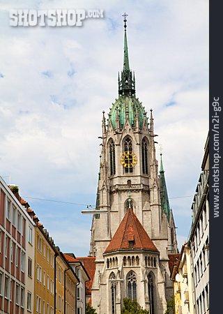 Church, Munich, St. Paul