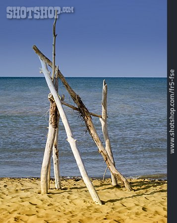 Driftwood, Sandy, Land Art