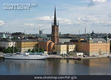 Stockholm, City District, Riddarholmen