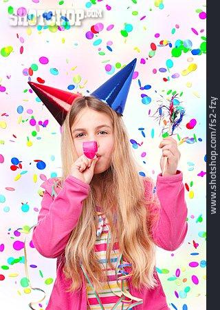 Child, Celebrations, Children Birthday, Confetti, Birthday Party