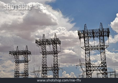 Electrical Tower, Hv, Mast