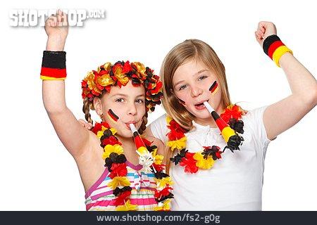 Fan, Soccer Fan, German Fans, Noisemaker