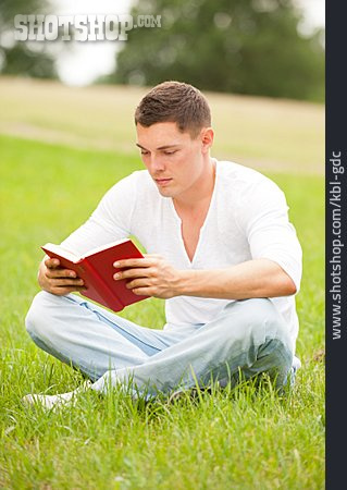 Young Man, Reading, Readers