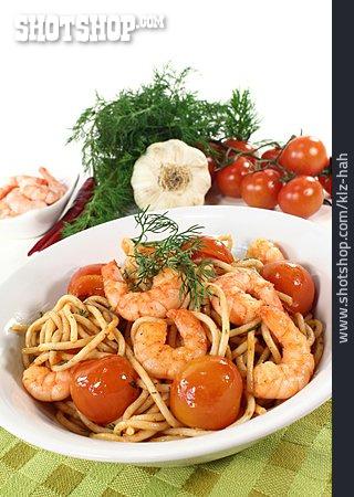 Seafood, Spaghetti, Italian Cuisine