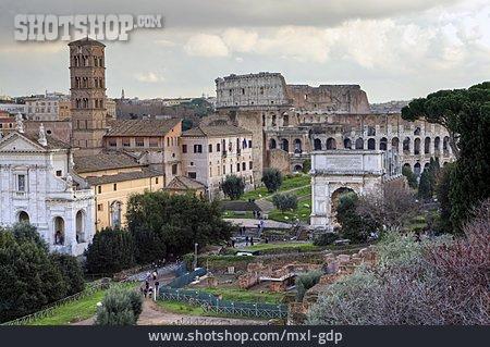 City View, Rome, Colosseum
