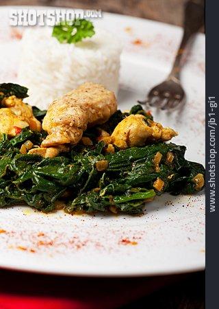Indian Cuisine, Murgh Palak