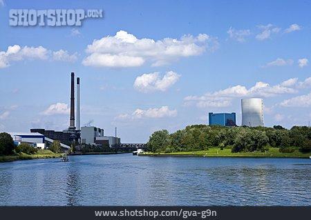 Industrial Area, Dortmund Ems Canal, Datteln Hamm Canal