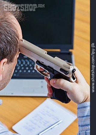Suicide, Hopelessness, Head Shot