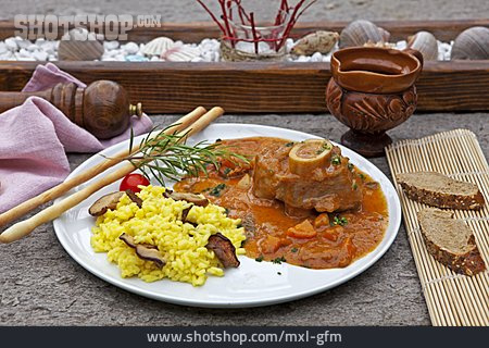 Stew, Veal Shank, Ossobuco Alla Milanese