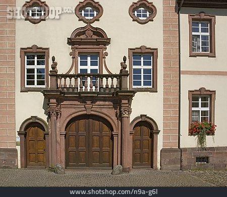 Entrance, Monastery Church, St. Peter