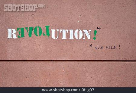 Writing, Youth Culture, Statement, Streetart, Revolution