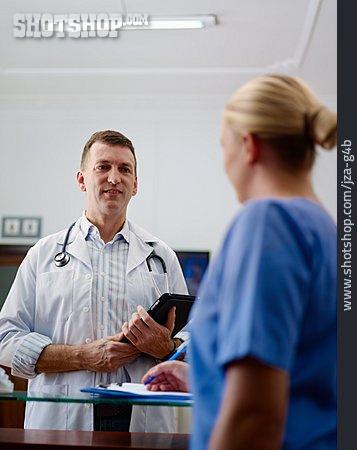 Doctor, Hospital, Nurse, Working Conference