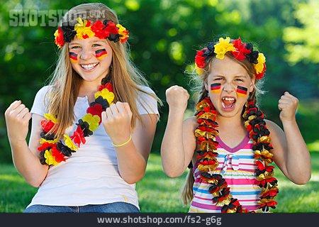 Cheering, Soccer Fan, German Fans