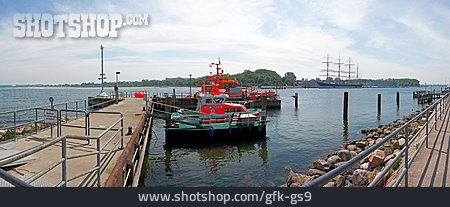 Jetty, Lifeboat, Travemuende