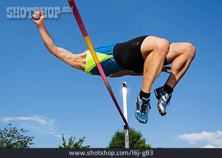 Sportsman, Jump, High Jump