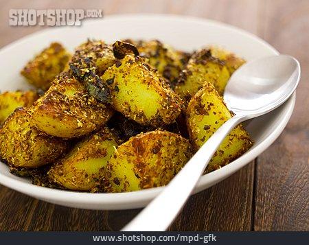 Potato, Cilantro, Indian Cuisine