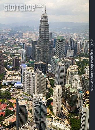 Office Building, Kuala Lumpur, Petronas Towers