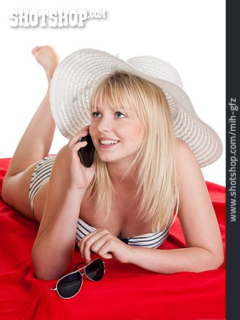 On The Phone, Summer Vacation, Holidaymaker