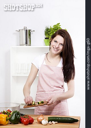 Vegetable, Preparation, Salad Preparation