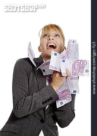 Business Woman, Successful, Windfall