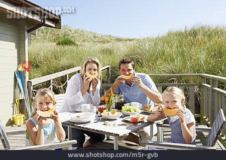 Summer, Breakfast, Family, Melon, Breakfast Table, Family Vacations