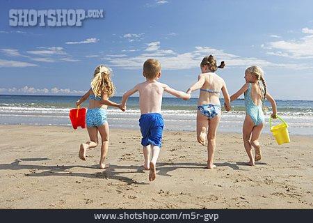 Boy, Child, Girl, Holiday & Travel, Holidays, Beach Holiday