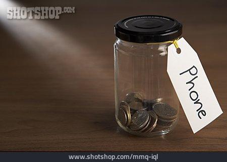 Coin Bank, Phone Bill
