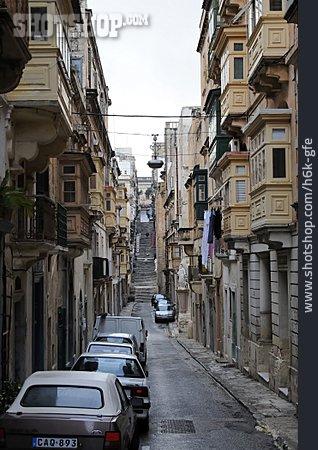 Old Town, Alley, Valletta