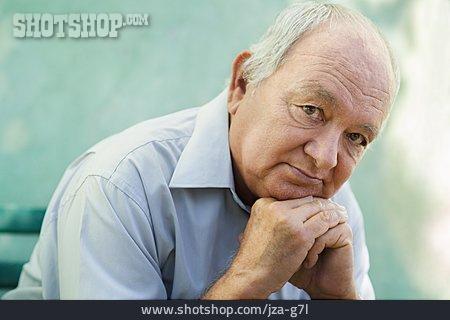 Man, Senior, Portrait