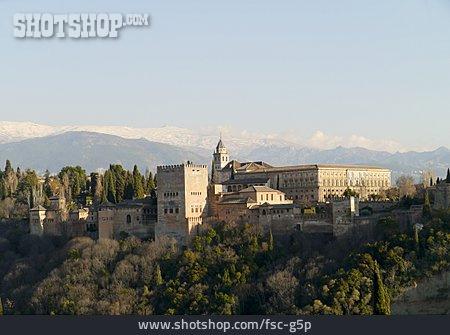 Fort, Granada, Alhambra