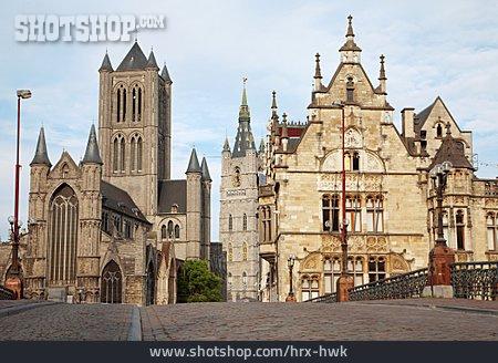 St Nicholas Church, Gent, St. Michael Bridge, Old Post Office