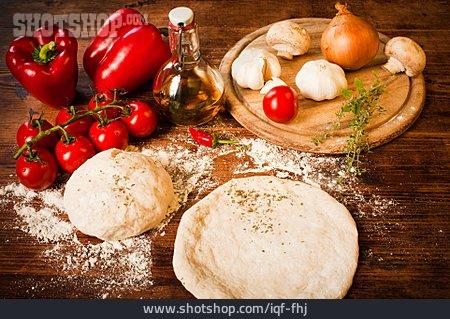 Ingredient, Pizza, Pizza Dough