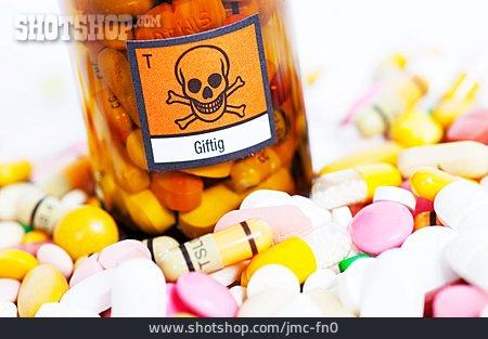 Poison, Skull, Drug Abuse