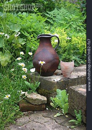 Jug, Cottage Garden