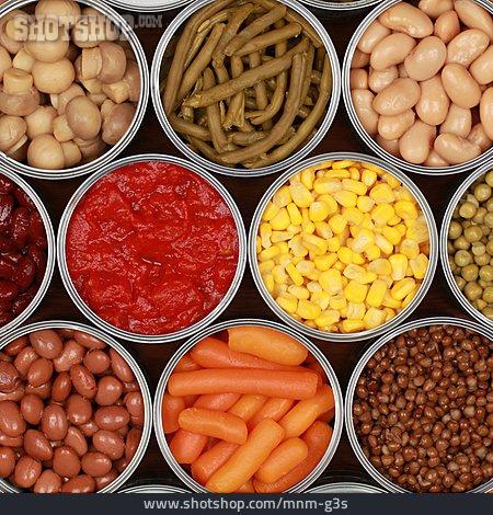 Vegetable, Food, Ingredient, Tin