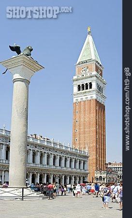 Steeple, Venice, St Mark's Campanile, Markus Lion