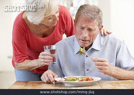 Senior, Couple, Care & Charity, Sick, Couple