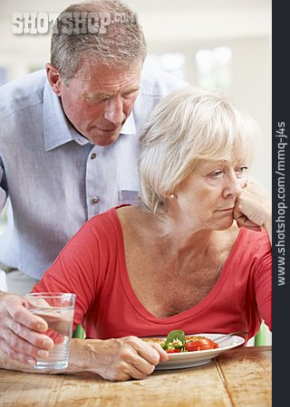 Care & Charity, Couple, Conflict, Depressed, Older Couple