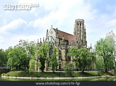 Church, Feuersee, Johanneskirche