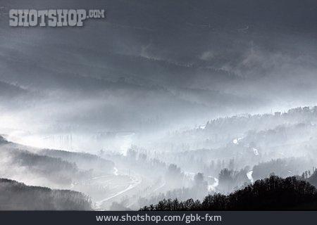 Fog, Valley
