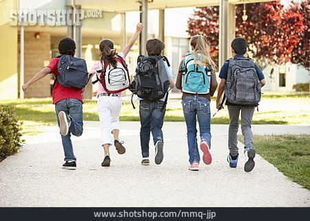 School Children, Schoolchild, Back To School