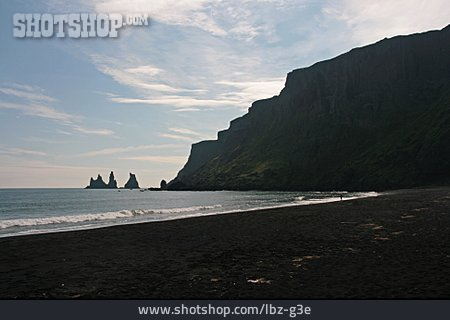 Iceland, Reynisdrangar, Vik I Myrdal