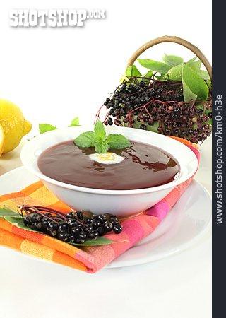 Cold Dish, Elderberry Soup