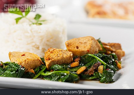Asian Cuisine, Chicken Curry