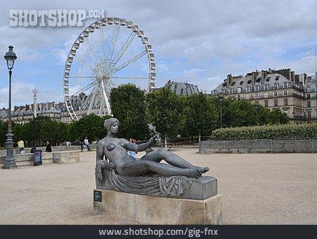 Ferris Wheel, Paris, Jardin Des Tuileries