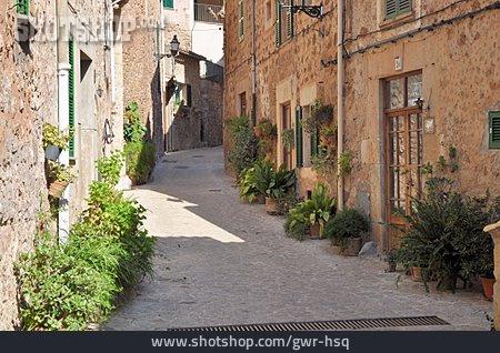 Alley, Majorca, Valldemossa