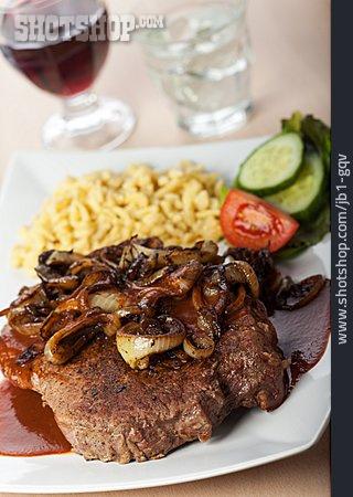 Swabian Cuisine, Onion Roast Beef