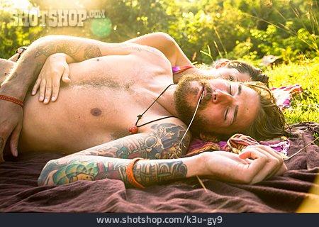 Leisure, Summer, Love Couple